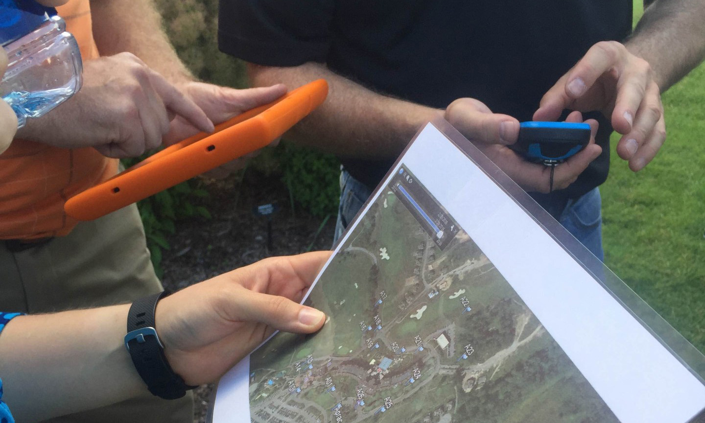 Geo Trekking, outdoors, hiking, gps course