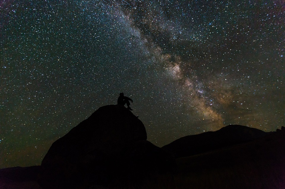 night, sky, stargaze, meteor shower, perseid, stars, perseus